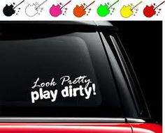 You Just Got Passed By A Girl With Hearts Car Truck Window Laptop - Decals for trucks windows