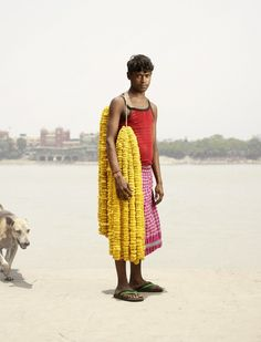 Danish photographer Ken Hermann couldn't help but be instantly inspired by the sellers of Calcutta's Malik Ghat flower market, one of the oldest and the largest of its kind in India