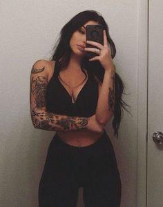 Tattoo Sleeve Women Girly Black 21 Trendy Ideas tattoo old school tattoo arm tattoo tattoo tattoos tattoo antebrazo arm sleeve tattoo Mini Tattoos, Cute Tattoos, Body Art Tattoos, Small Tattoos, Sexy Tattoos, Stomach Tattoos, Girly Tattoos, Pretty Tattoos, Foot Tattoos
