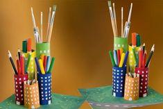 Upcycling: Stiftehalter aus Papprollen - [GEO]