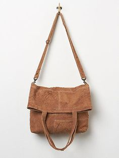 Aged Suede Tote