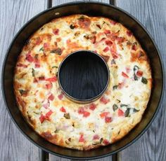 Eat rich and healthy: Baked cauliflower cake