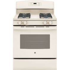 GE - 5.0 Cu. Ft. Self-Cleaning Freestanding Gas Range - Bisque