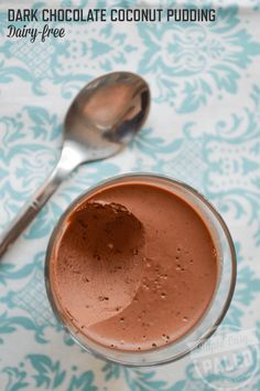 Dark Chocolate Coconut Pudding – Dairy-Free | StupidEasyPaleo.com