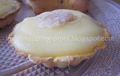 Tartaletas con crema y cabello de ángel  Ingredientes para la crema: 500ml. de leche desnatada 1 sobre de Pudding del Lidl Edulcorante al gusto 1 CS de maicena Aroma de vainilla