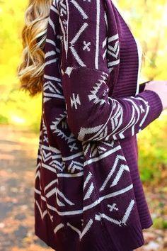 sweater....
