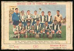 Hercules Alicante team group in 1960-61.