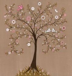 Flower Tree Mural