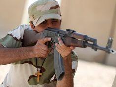 Cristãos são treinados por xiitas para combater o Estado Islâmico no Iraque