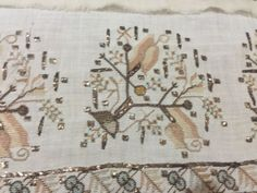 ottoman embroidery towel  large 8