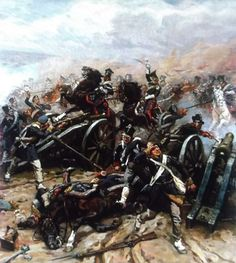 Charge of the Light Horse battery Prussian. by ANTONI TRZESZCZKOWSKI- Restore memory - Page 4 | opinions forum dobroni.pl