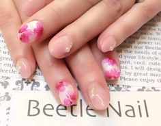 Nail Art - Beetle Nail : 2016年01月  #春待ちネイル #フラワーネイル #Beetlenail #Beetle近江八幡 #ビートルネイル #ビートル近江八幡
