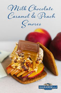 Ghirardelli SQUARES makes your S'mores a bite better. They are the perfect shape for your three-ingredient classic s'mores! Instead of using a plain chocolate bar, go for quality chocolate and luscious fillings.