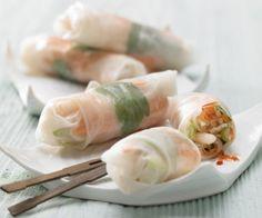 Rezept: Gefüllte Reispapier-Röllchen