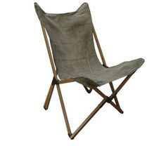 Tripolina Chair in recycled army canvas  sc 1 st  Pinterest & 100: The Five Best Folding Canvas Deck Chairs | Pinterest | Deck ...