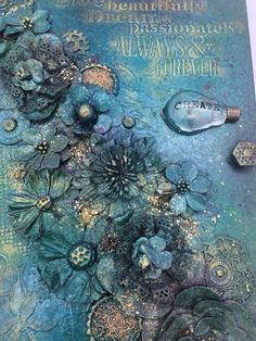 Items similar to Mixed media art journal on Etsy Mixed Media Journal, Collage Art Mixed Media, Mixed Media Canvas, Altered Canvas, Altered Books, Mixed Media Techniques, Art Techniques, Painting Techniques Canvas, Artists