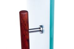 Natural collection door pull in cocobolo by Tantalus Design Door Pulls, Door Handles, Hardware, Architecture, Natural, Wood, Modern, Collection, Design