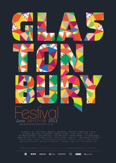 Glastonbury Festival this upcoming weekend!
