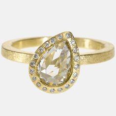trdr481-18ky-p26 | 18ky gold, white fancy cut diamond (1.28ctw), white brilliant cut diamonds (.082ctw)