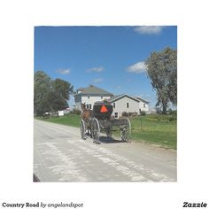 Country Road Note Pad