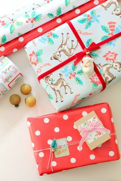 citrusandorange: cath kidston...oh my...I heart these papers!