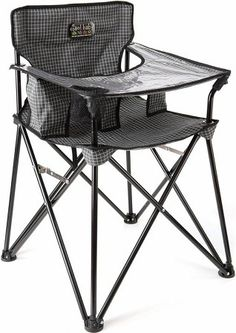 Fold up highchair.....perfect for camping......why didn't they have this when my kids were little???