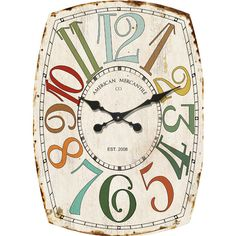 Found it at Wayfair - American Mercantile Wall Clock