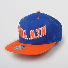 new concept 448d1 72e83 Upside Down Knicks Snapback Cap   REED SPACE ONLINE SHOP. MYKNICKER · KNICKS  HATS · NBA New York ...