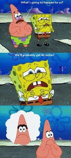 Classic Patrick…