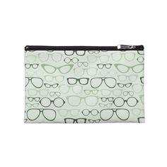 Mint Hipster Glasses bag