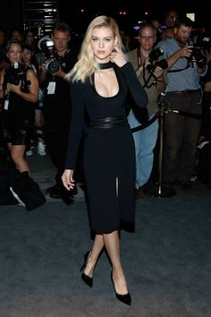 Nicola Peltz au défilé Tom Ford, Fashion Week de New York, Septembre 2016