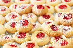 Husarské koláčky plněné pikantní marmeládou