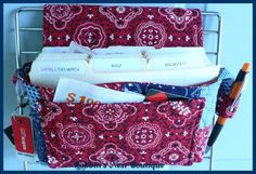 Coupon Organizer Quilted Tote