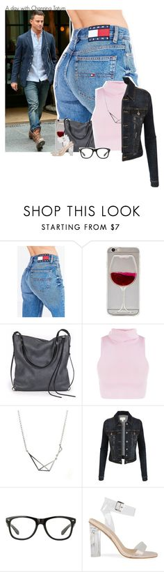 """""""A day with Channing Tatum"""" by fangirl-preferences ❤ liked on Polyvore featuring Tommy Hilfiger, Wet Seal, Ina Kent and LE3NO"""