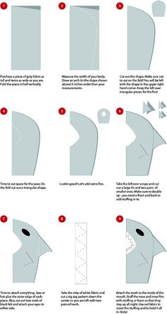 Shark Costume DIY | Flickr - Photo Sharing!