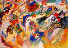 Vassily Kandinsky (my great master). Study 2 for Composition 7. My favourite...