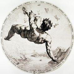 Hendrik Goltzius, The fall of Phaeton