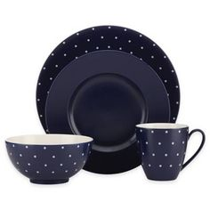 product image for kate spade new york Larabee Dot Navy Dinnerware Collection