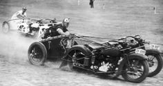 Motorcycle Chariot Racing was a real sport in the 1920s and 1930s