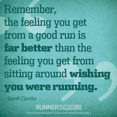 the regret of NOT running is always worse than sweating it out #running #runningmotivation