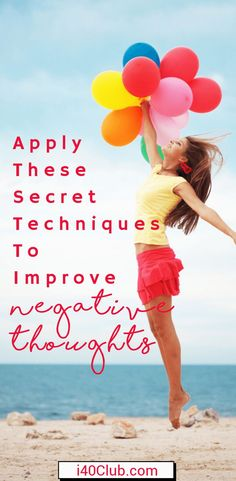 Apply These Secret Techniques To Improve Negative Thoughts Anxiety Relief, Stress Relief, Positive Mindset, Positive Living, Positive Psychology, Positive Attitude, Living A Healthy Life, Self Care Routine, How To Wake Up Early