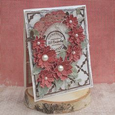 Such a wonderful card, created by Amy Voorthuis. <3  #card #cardmaking #cardinspiration #papercraft #papercrafting #papercrafts #scrapbooking #majadesign #majadesignpaper #majapapers #inspiration #vintage