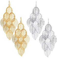 Pierced L. GOOD TO KNOW All of Avon-s jewelry is nickel-free for those with sensitive skin & allergies to nickel. More Details Leaf Earrings, Chandelier Earrings, Girly Things, Girly Stuff, Avon, Jewelery, Beauty Hacks, Bling, Leaves
