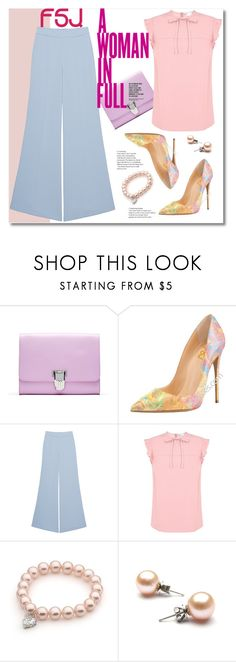 """""""FSJ"""" by adanes ❤ liked on Polyvore featuring Pinko, RED Valentino, KAROLINA and fsjshoes"""