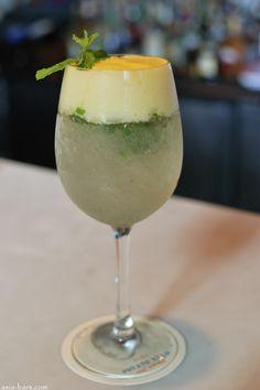 Kookaburra cocktail at Potato Head in Seminyak, Bali. Got a little bit addicted...