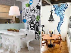 Dicas para os fãs de street art e como incorporá-la a decoração da sua casa.