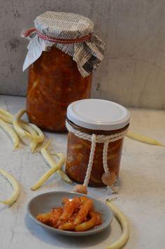 Apetyczna babeczka: Fasolka szparagowa w pomidorach do słoika