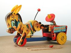 Wooden Toys by Fisher-Price – 1950′s – 1960′s ..