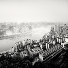Jialing River, Chongqing, China by Martin Stavars