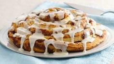 Pillsbury makes mornings special with quick place-and-bake cinnamon rolls with Cinnabon Cinnamon.